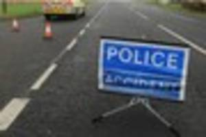 Traffic congestion in Braunton due to earlier incident