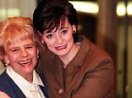 sadness of cherie blair after her mother, gale booth, dies aged 83