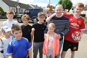 snooker champion graeme dott opens ferniegair gala day