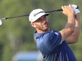 dustin johnson sets his sights on replacing jason day as world no 1 ahead of his open championship bid at troon