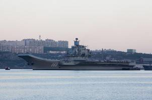 putin deploys russian aircraft carrier to syria in retaliation to us naval build up in mediterreanean