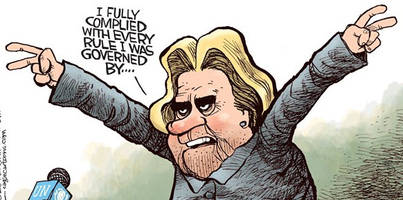 the rise of hillary clinton - survival of the morally unfittest?
