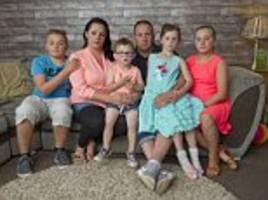 family who saved for five years for their first holiday abroad were struck down by vomiting and diarrhoea before gang of thieves ransacked their apartment