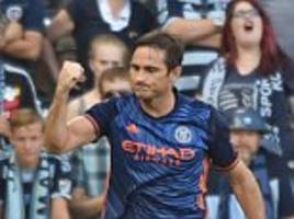 lampard scores again for new york city fc in defeat to kansas city