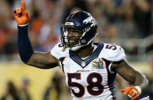 von miller took to twitter to celebrate his massive new contract