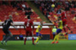 bristol city starlet wes burns scores with first touch on his...