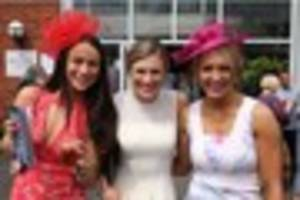 sunny skies for annual ladies day at market rasen racecourse -...
