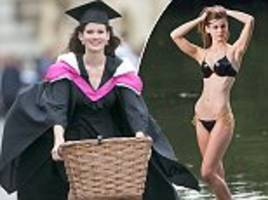 former miss england to become a junior doctor after graduating from cambridge university