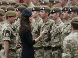 Prince William and Kate in salute to SAS heroes 75th anniversary event