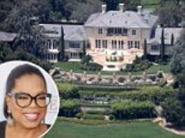 the grass is always greener... that is, if you're a celebrity like oprah, jessica simpson, jamie foxx or khloe, kim and kanye - in spite of california's worst drought in 1,200 years