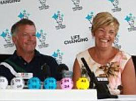 glasgow £15m lottery winners went on family holiday before claiming jackpot