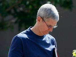 wall street says there 'probably won't be too many positives' for apple in the short term (aapl)