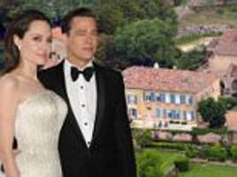 Brad Pitt and Angelina Jolie's $60m French chateau threatened by forest fires