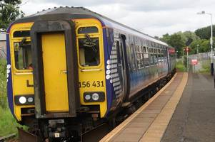 East Kilbride bound train brought to a halt as passenger is rushed off service after becoming unwell