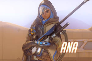 meet ana and her biotic rifle: 'overwatch' adds first new character on pc