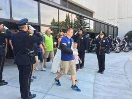 Wounded Milwaukee Police Officer Returns Home