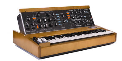moog's groundbreaking minimoog synth returns to full production