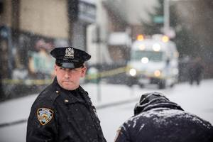 Shots Fired at NYPD Officers