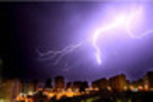 oh no! thunderstorm and flood warning for gloucestershire