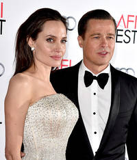 Brad Pitt And Angelina Jolie Divorce Rumors: Couple Caught In Cozy PDA Amidst Angie's Anorexia Health Reports