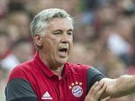 Carlo Ancelotti says managing Bayern Munich in Allianz Arena made him as 'excited as if it had been first day at school'