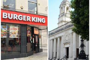 students who behaved like 'wild animals' in drunken fight outside burger king are spared jail