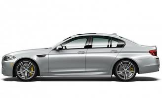 u.s.-only bmw m5 limited edition has 600 horsepower, special silver paint