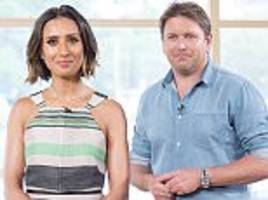 anita rani and james martin are mercilessly slammed by this morning fans who brand them 'cringeworthy' as they make their debut as the show's summer hosts
