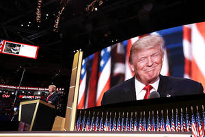 donald trump embraces gays in historic shout-out at republican national convention