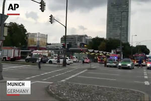 multiple people dead in shooting spree at german shopping mall