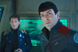 'star trek beyond' lifts off with $5.5 million on thursday