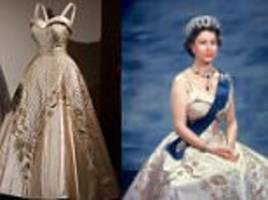 the queen's dresses to be showcased in buckingham palace exhibition