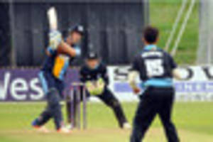 derbyshire ccc: falcons stay in t20 chase by beating rapids