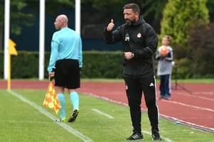 aberdeen boss derek mcinnes delighted with his side after ventspils victory