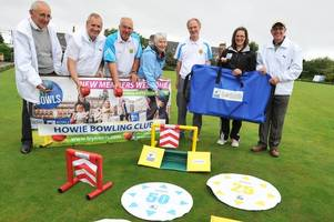 Young bowlers at Prestwick Howie scoop prize from Bowls Scotland
