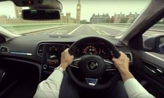 360 youtube test drive video takes renault megane gt to big ben