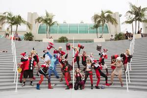 Harley Quinn cosplayers are taking over Comic-Con