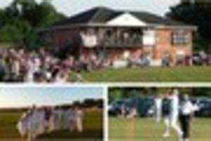 derby county legends don whites for charity cricket match
