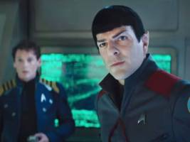 the new 'star trek' wins the weekend box office, but performs below expectations