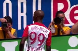Wright-Phillips gives the Red Bulls an early 1-0 lead   2016 MLS Highlights