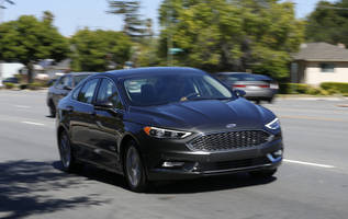test drive: ford's fusion offers mainstream consumers a taste of semi-autonomous functions