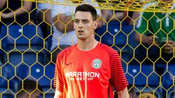 ross laidlaw surprise at hibs bow against brondby in europa league