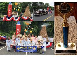 Cub Scout Pack 501 Wins Judges Trophy at Dale City July 4th Parade
