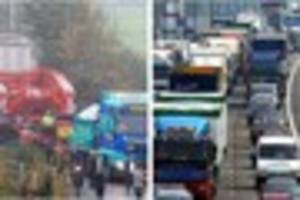 Major traffic delays expected as monster abnormal load lorry...