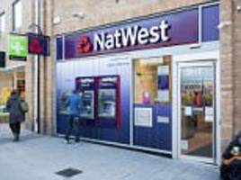 natwest may set negative interest rates for accounts: bank could hit firms for being in credit after they change their terms and condiitons