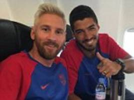 lionel messi turns blond... why is the peroxide craze sweeping football?