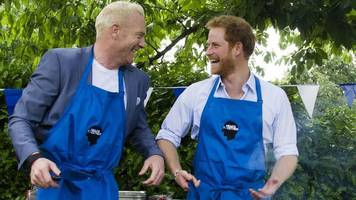 iwan thomas and prince harry discuss depression