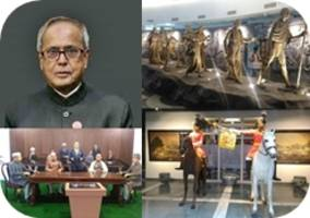 President Pranab Mukherjee completes 4 years in office today