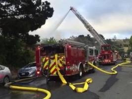 BREAKING: Two Teen Boys Started Millbrae Community Center Fire, Sheriff's Office Says