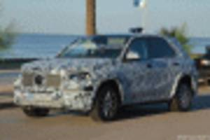 2019 Mercedes-Benz GLE spy shots